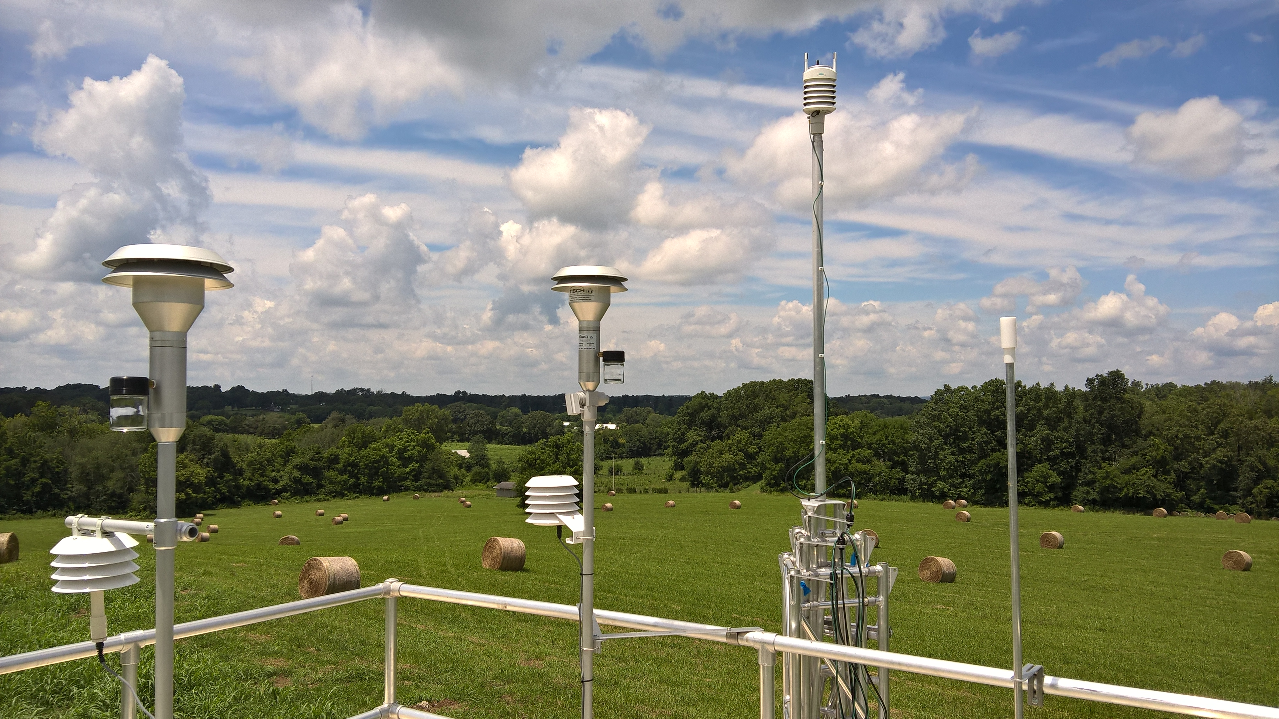 Air Sampling System : Ambient air quality monitoring system installed cas